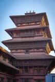 Basantapur torn, Katmandu Arkivfoton
