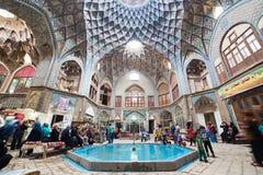 Basar av Kashan, i Iran arkivfoto