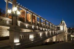 Basar för Budapest slottträdgård royaltyfri foto