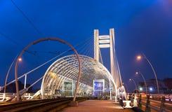 Basarab桥梁,布加勒斯特 库存照片