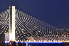 Basarab Brücke, Bucharest, Rumänien lizenzfreies stockfoto