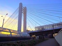 Basarab bridge from Bucharest Stock Photo
