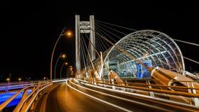 Basarab bridge Royalty Free Stock Photography