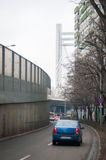 Basarab car passage Royalty Free Stock Photo