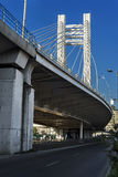Basarab overpass in Bucharest Stock Photography