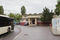 Basarab train station Royalty Free Stock Images