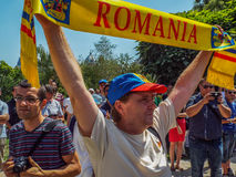 Basarabia and romania march for unification_ Stock Photos