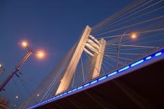 Basarabviaduct de nacht Stock Foto's