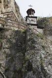 Basarbovo岩石修道院 库存图片