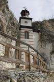 Basarbovo岩石修道院 免版税库存图片