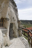 Basarbovo岩石修道院 图库摄影