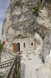 Basarbovo岩石修道院 库存照片