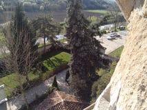 Basarbovo kloster Arkivbild