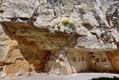 Basarbovo kloster Royaltyfria Bilder