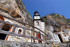 Old Cave Monastery royalty free stock photos