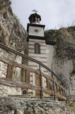 Basarbovo vaggar kloster Royaltyfria Bilder