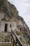 Basarbovo vaggar kloster Arkivfoto