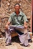 Basarwa man Royalty Free Stock Images