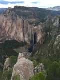 Basaseachi瀑布风景  库存图片