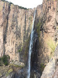 Basaseachi waterfall. In Chihuahua México, the taller of the country Stock Photography