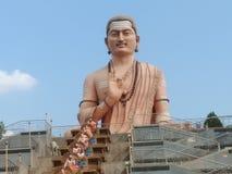 Basava or Lord Basavanna or Basaveshwara. Basaveshwara 100 feet statue at Basava kalyan, Karnataka Royalty Free Stock Photos