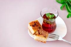 BasbousOriental-Nachtisch Basbousa oder Namoora Traditioneller arabischer Nachtisch Traditionala oder Namoora Köstlicher selbst g lizenzfreie stockfotos