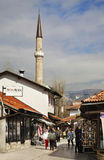Bascarsija – old bazaar in Sarajevo. Bosnia and Herzegovina Royalty Free Stock Photos