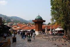 Bascarsija square Stock Image
