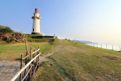 Basco lighthouse of Batan Island in Batanes, Philippines - Series 5 Royalty Free Stock Image