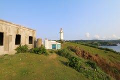 Basco lighthouse at Batan island in Batanes, Philippines - Series 3 Royalty Free Stock Image