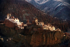 Basco Monastery Leh Ladakh Stock Photography
