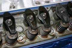 Basculadores de la culata de motor del mustango de Ford 289 302 Fotos de archivo libres de regalías