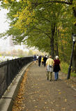 Basculadores y caminante Fotografía de archivo