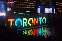 Basculage de Toronto image stock