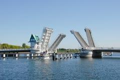 Bascule bridge Royalty Free Stock Image