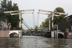 Bascule bridge Stock Images