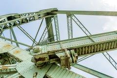 Bascule bridge details Stock Images
