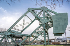 Bascule bridge details Royalty Free Stock Photography