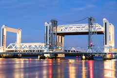 Bascule bridge Royalty Free Stock Images