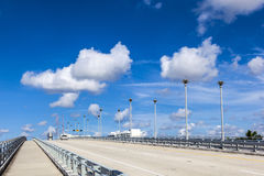 Bascule bridge over Stranahan River in Fort Lauderdale Stock Image