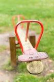 Bascule en bois image libre de droits