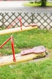 Bascule en bois photo stock