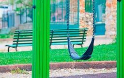 Bascule en parc Images libres de droits