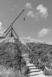 Basculelicht auf dem Hügel, Skagen - Dänemark Lizenzfreies Stockbild