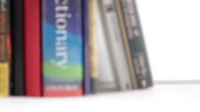 Basculement du livre banque de vidéos