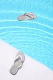 Bascules électroniques de flottement Photo libre de droits