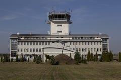 Base aérea de Krzesiny en Poznán Foto de archivo
