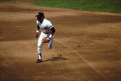 Base anterior Willie Randolph do ianque segundo de New York Foto de Stock