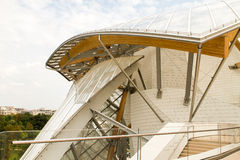 Base architecturale Louis Vuitton Interior de détails Photos libres de droits
