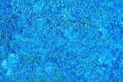 Base astratta blu della parete Fotografie Stock Libere da Diritti